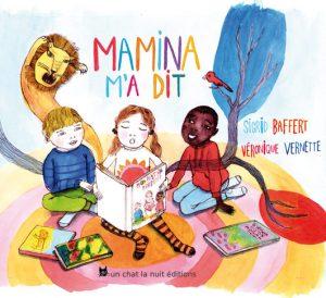 couverture livre jeunesse Mamina m'a dit