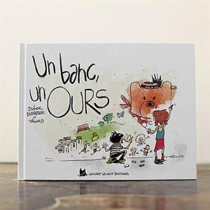 couverture du livre un banc un ours