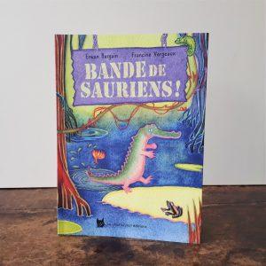 COUV BANDE DE SAURIENS-PHOTO1